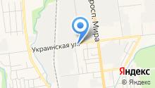 УАЗ-ДВ на карте