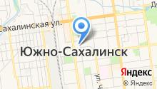 1 отряд ФПС по Сахалинской области на карте