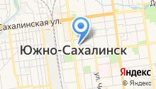 1 отряд ФПС по Сахалинской области, ФГКУ на карте
