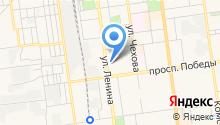 Айтек на карте