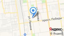 Аинское на карте
