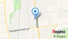 АНВ на карте