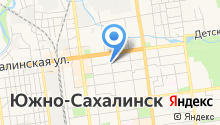 1 отделение Военного комиссариата г. Южно-Сахалинска на карте