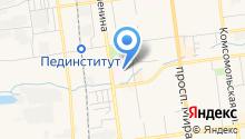 Аллегра на карте
