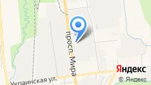 Мега Оил на карте