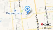 Амфиболит на карте