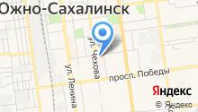 Ателье на ул. Поповича на карте