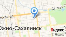 Агентство по труду Сахалинской области на карте