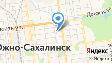 Агентство по труду и занятости населения Сахалинской области на карте