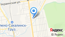Автотранспортное хозяйство УВД по Сахалинской области на карте