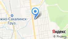 Агентство по обеспечению деятельности мировых судей Сахалинской области на карте