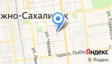 Агентство государственной службы занятости населения Сахалинской области на карте