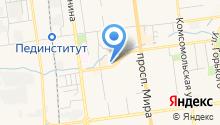 Банкомат, Банк Итуруп на карте