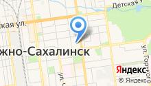 Агентство по рыболовству Сахалинской области на карте