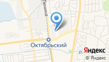 Федоровка на карте