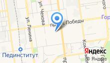 Адвокат Касымова Е.В. на карте