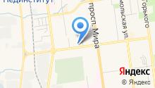 Автоклав на карте