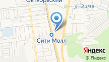 Claude Monet на карте