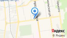 4х4 Джиант на карте