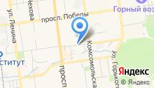 Автостоянка на Пограничной на карте
