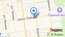 Columbia FootTerra на карте