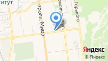 Алёна на карте