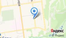 Молан на карте