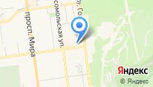 Крэйн на карте