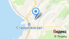 Корсаков на карте
