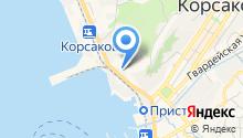 Сахалинская автотранспортная компания на карте