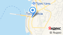 Продуктовый терминал на карте