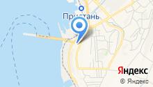 Служба безопасности мореплавания, АНОО на карте