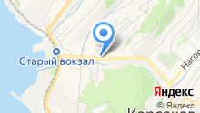 Служба газа на карте