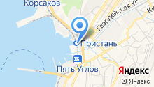 Корсаковская автомобильная школа на карте