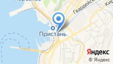 Городские бани на карте