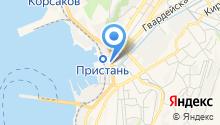 Денто-Квин на карте