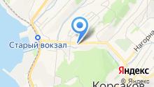 Отделение ОГИБДД отдела ОМВД России по Корсаковскому городскому округу на карте