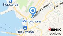 Сахалин-ТрансТелеКом, ЗАО на карте