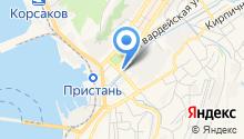 Типография Корсакова на карте