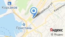 Межрайонная инспекция Федеральной налоговой службы России по Сахалинской области на карте