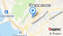 Главное управление МЧС России по Сахалинской области на карте