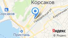 Центральная библиотека на карте