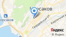 Отдел полиции Корсаковский на карте