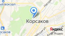Отдел вневедомственной охраны войск национальной гвардии РФ по Корсаковскому городскому округу на карте
