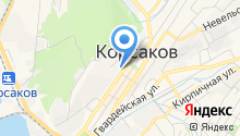 Управление по делам ГО и ЧС г. Корсакова на карте
