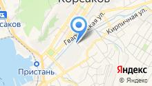 Сахалинское таможенное агентство на карте