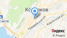 Зоомагазин на Корсаковской на карте