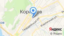 Отдел судебных приставов по Корсаковскому району на карте