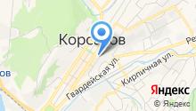 ЗАГС г. Корсакова на карте