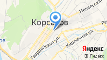 Корсаковский городской суд Сахалинской области на карте